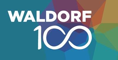 Waldorf100 Logo Mit Bkgrnd