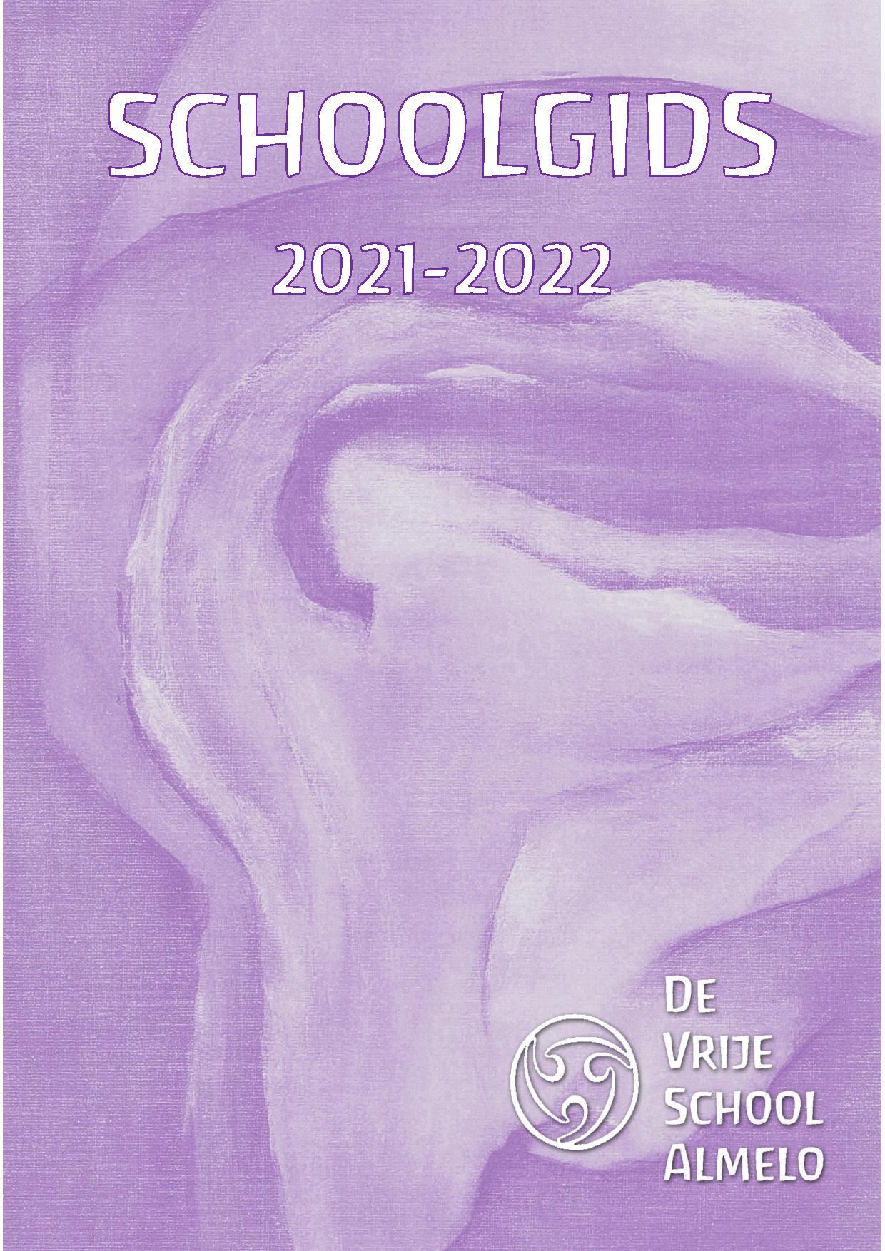 Omslag Schoolgids 2021 2022